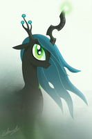 Chrysalis in the Mist by edvedd