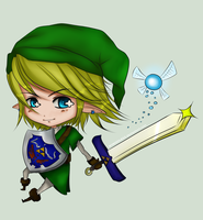 . Chibi Link . by WINGEDLESS