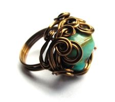 Custom Shipwrecked Ring by sojourncuriosities