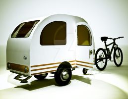 Bicycle Mini Camper Design 01 by sicklilmonky