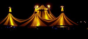 When the Circus Comes to Town by Shirabelle