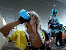 Powerade Tidus by takerucoh