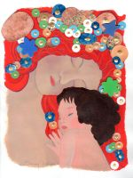 Klimt's -Three ages of women, my personal version by LauraMel