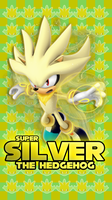 Super Silver The Hedgehog Phone Wallpaper by CosmicBlaster97