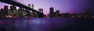 Sunset over the Big Apple by nikonforever