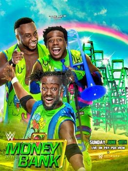 WWE Money In The Bank 2017 Official Poster by SidCena555