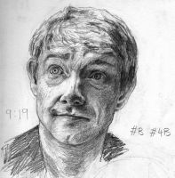 Sketchbook - John Watson by Montaneous