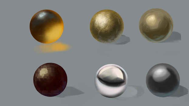 Material Study by MathildasDoubel