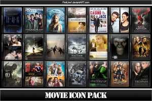 Movie Icon Pack 39 by FirstLine1