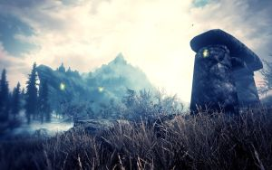 Beauty of Skyrim III by MuuseDesign