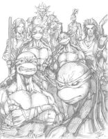 BCC 2013 TMNT Family by phil-cho
