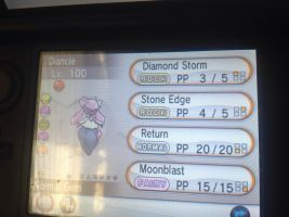 Event diancie for sale!!! by alucardserasfangirl