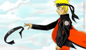 Naruto  Uzumaki - Never give up by Adenaru