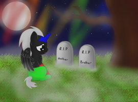 Graveyard in the graveyard by lozix