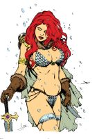 Red Sonja by Hellsprings