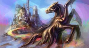 Sleipnir by bloodrizer