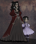 Mother And Daughter by OwlBeAwkward