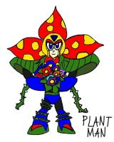 Plant Man by tanlisette