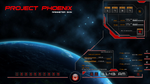 Project Phoenix_preview for rainmeter skin by Clipsy-Moon