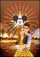 The Mickey Fun Wheel by madam-marla