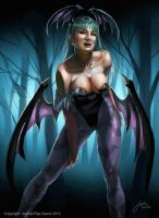 Morrigan: Cover Art (Re-upload) by JophielS