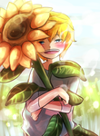 sunflower for you by KazunaPikachu
