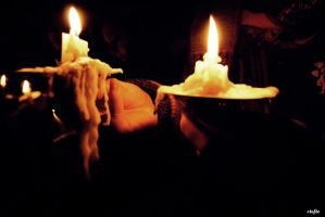 Candle light by Stefte