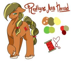 Redlyne Thread by Joint-ParodiCa