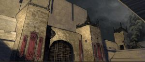 Gilead Prison Tower Gates by Rusty001