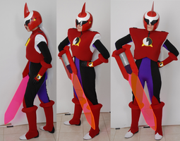 Protoman.exe Cosplay Shoot by JexisLulzington