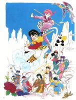 Ranma: Journey to the West by MCN51FJ