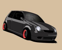 VW Lupo Toon by Knowleso