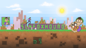 SlyFoxHound Youtube Banner by Leemak