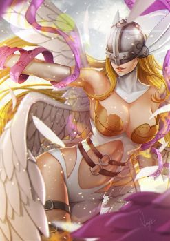 Angewomon Digimon by magion02