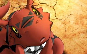 Guilmon :A new Hope: by freaky135