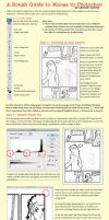 Tutorial: Manga in Photoshop by ancient-secrets