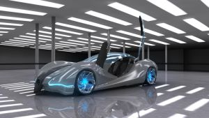 Mercedes Ethos Concept car by Virajo2