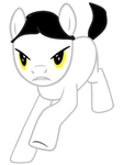 New Data Pony Design by HeartSong-fim