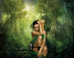 Lara Croft by ImyAnt