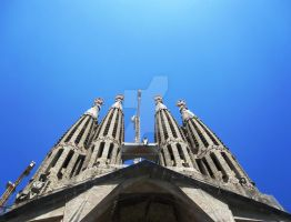 Sagrada Familia by BlankestCanvas