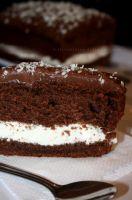 Chocolate Cream Cake by claremanson