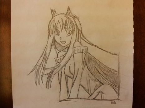 Holo - Spice and Wolf by AventadorLP700-4