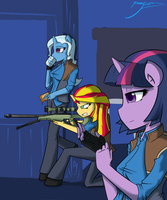Equestrian Snipers by TheYoungReaper