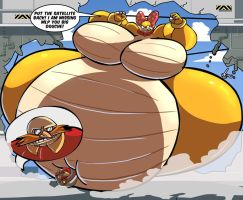 Wendy finds Eggman by RickyDemont