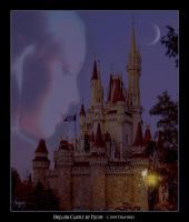 Dreams Castle by night by Chatterly