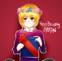 Hbd Armin! by Poichanchan