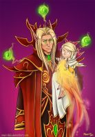 The Prince and the Invoker by mael-likki