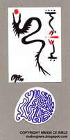 Trial of the Brush :and a lineograph: by NeuronPlectrum