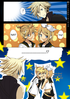 Cloud Meets Kagamine Twins by Fryapeinleve