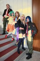 Macross Frontier - The Crew by AtlantisLux
